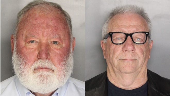 Jim Larkin (left) and Michael Lacey