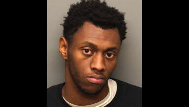 Artavius Brown Sr., 20, is accused of fatally shooting another man during a custody exchange outside the Raleigh Kmart Sunday.