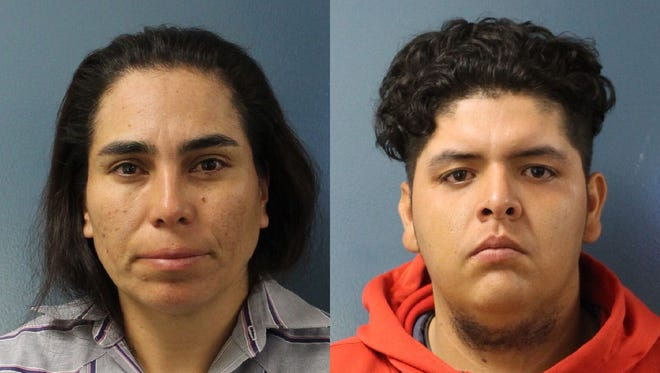 Angelita Reyes, 42, left, and Jesus Jeronimo, 24, both of Bakersfield, were convicted of first-degree murder.