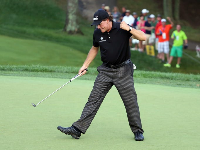 Phil Mickelson is one of the most experienced members on Tom Watson's Ryder Cup team.