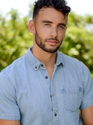 """Milford-based actor and model Brendan Morais, 30, will appear on the 16th season of ABC's """"The Bachelorette"""" this fall."""