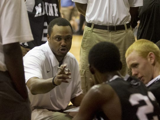 Mariner High School boys basketball coach James Harris