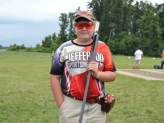 "Evan Walechka of Jefferson Sportsman Club took first place in the ""Last Man Standing"" trapshooting competition at the 2018 SCTP National Championship in Marengo, Ohio."