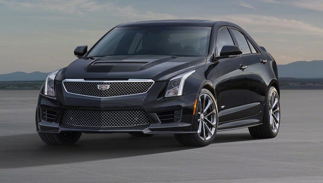 The Cadillac ATS-V sedan arrives track-capable from the factory next spring, powered by the first-ever twin-turbocharged engine in a V-Series.
