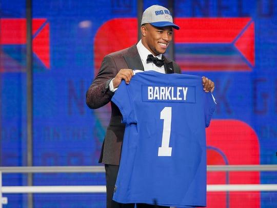 2. New York Giants - Saquon Barkley, RB, Penn State