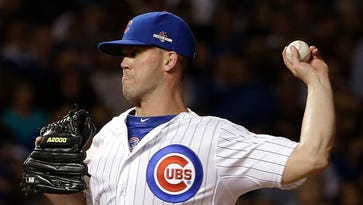 Chicago Cubs pitcher Clayton Richard.