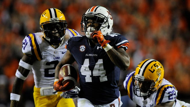 Auburn running back Cameron Artis-Payne could be in for a big outing against a struggling South Carolina rush defense.