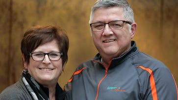 Celebrating Volunteers: Jim and Sue Spierings find stage to rock cancer