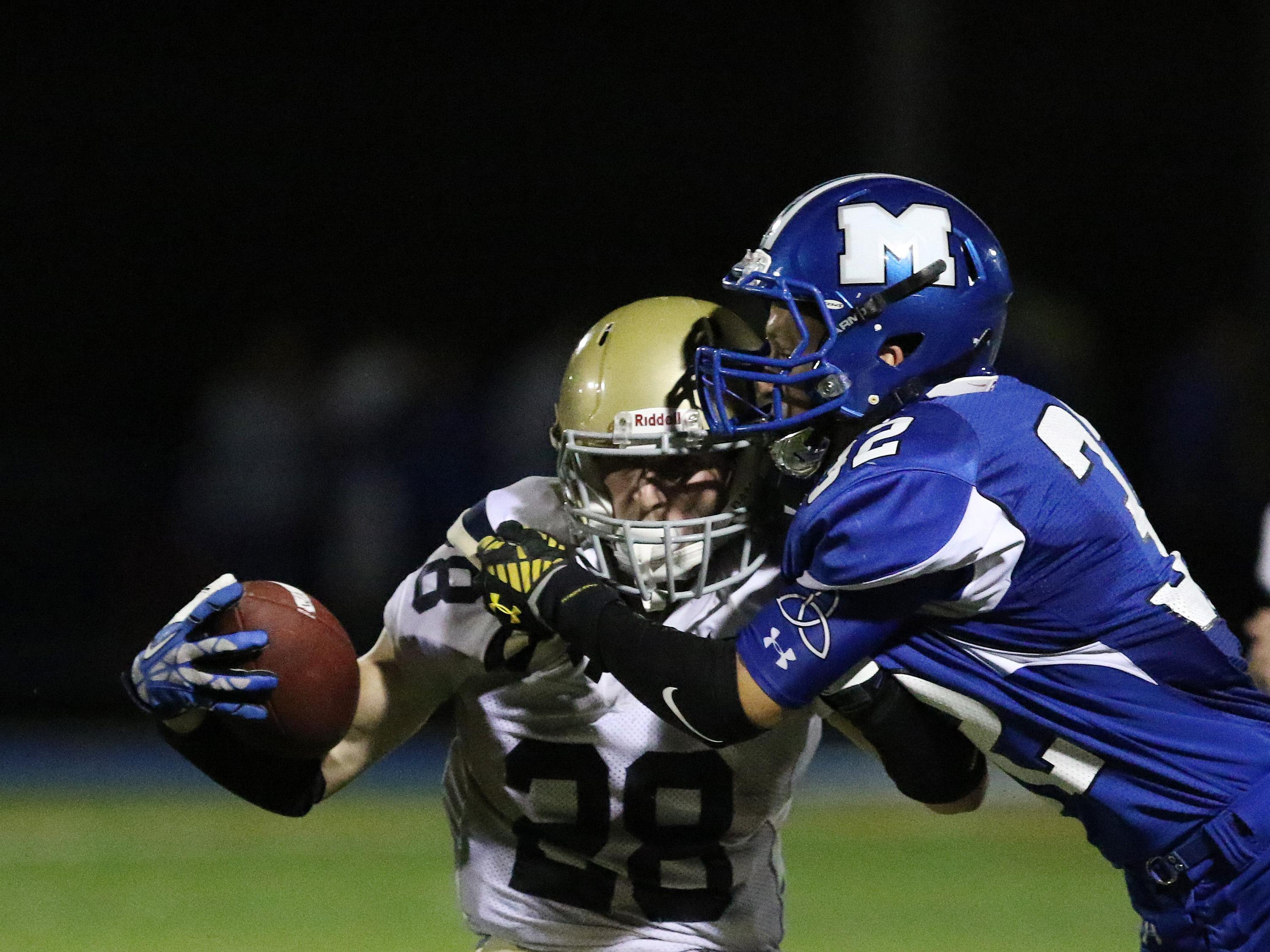 McNary defeats West Albany 31-22 in a Greater Valley Conference game on Friday, Sept. 18, 2015.