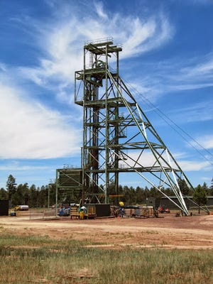 Canyon Mine sits six miles from Grand Canyon and could begin producing ore soon.