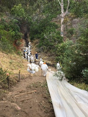 Restoration efforts have begun following the June 23 oil spill.