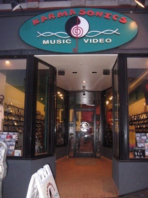 Karmasonics Music Video moved to 19 Biltmore Ave. in 2008 after a long run on Haywood Street.