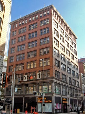 The Jewelers Exchange Building at 37 W. Seventh St. was purchased in December by a group interested in creating a new hotel in the city's Central Business District.
