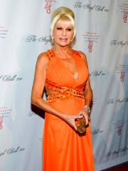 FILE - In this Oct. 17, 2011 file photo, Ivana Trump