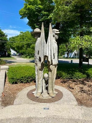 The Allendale Township board of trustees will decide over the future of a Civil War memorial statue located in its Garden of Honor on Tuesday, June 30.