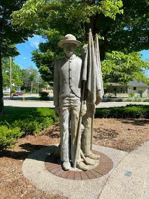 Civil rights groups have called for the removal of a statue depicting a Confederate soldier in Allendale.