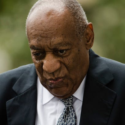 Bill Cosby at his sexual assault trial in Norristown,