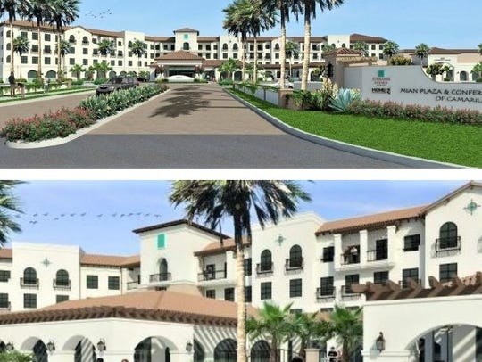 Renderings of the project show the Spanish colonial