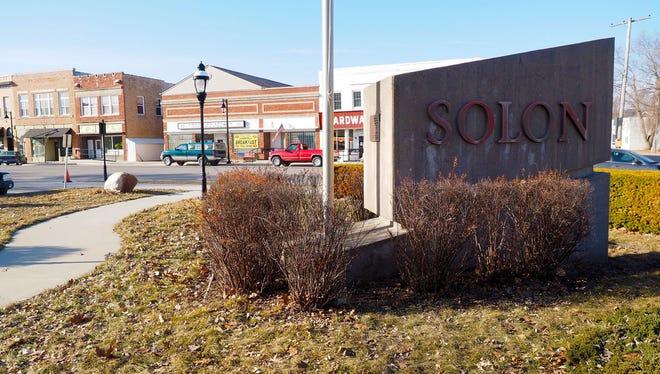 Solon main street.