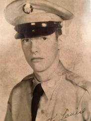 A 17-year-old Richard Lucas in his official U.S. Army