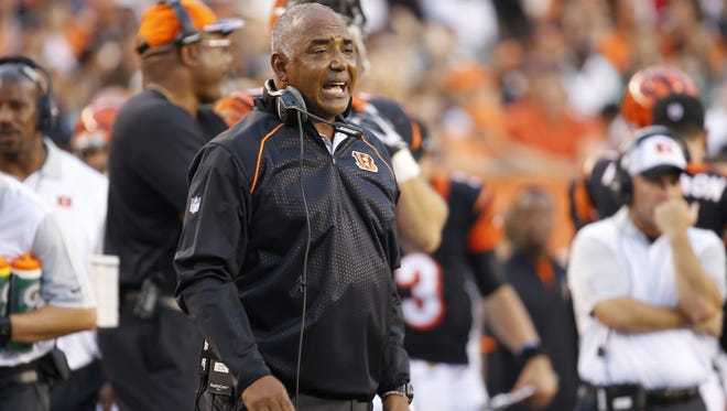 Cincinnati Bengals head coach Marvin Lewis.