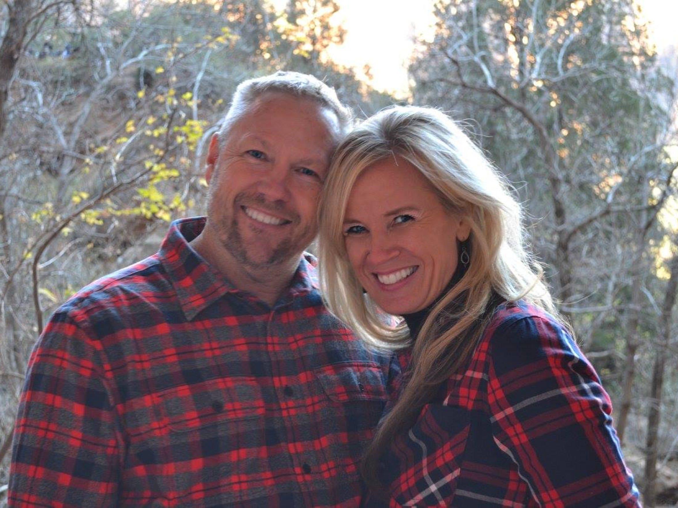 Macin Smith's parents, Darren Smith and Tracey Bratt-Smith