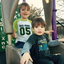 """Jill Albright Briesch says her family has been forced to absorb the cost of much of the therapy for her two sons, Alexander 5, left, and William, 3."""
