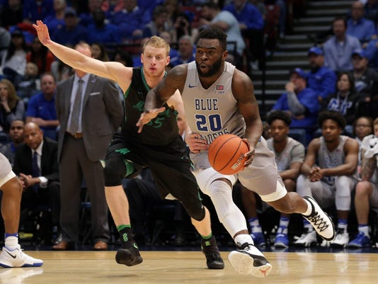 NCAA Basketball: Conference USA Tournament- Marshall vs MIddle Tennessee State