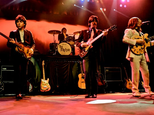 Formed in 1997, The Fab Four — The Ultimate Tribute,