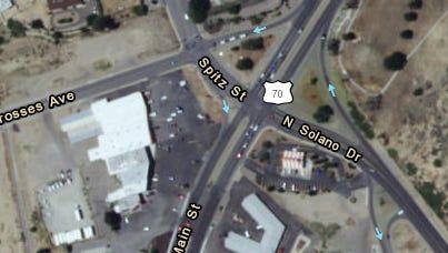 Solano Drive-3 Crosses Avenue intersection project