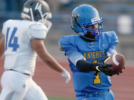 Bremerton's Sema'j Cook led the Knights with 1,123 rushing yards and 12 touchdowns.