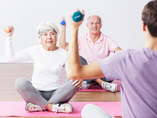 Way for seniors to be more accountable to sticking with an exercise