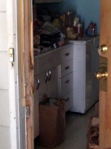 Inside LeRoy Ern's home on the 4600 block of N. Parkway