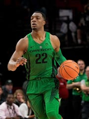 Oregon Ducks forward Mikyle McIntosh.