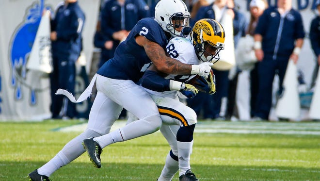 Safety Marcus Allen and company must start producing more turnovers for Penn State's depleted defense to survive. Starting Saturday in Michigan would be advisable.