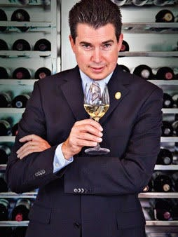 "Master Sommelier Joe Phillips will present a seminar during ""Eureka Uncorked"" Saturday."