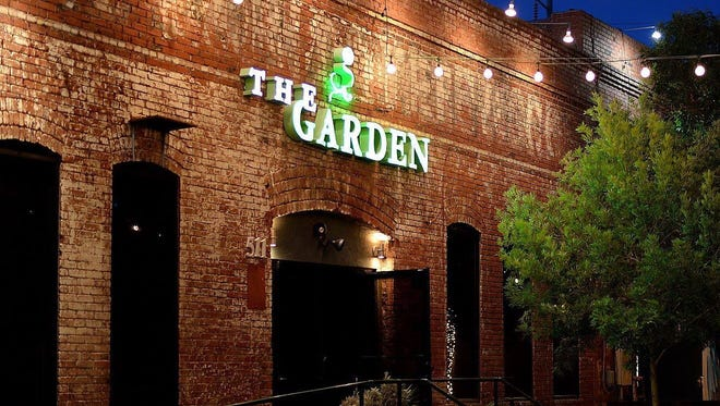 The once popular Downtown restaurant The Garden closed its doors this month.