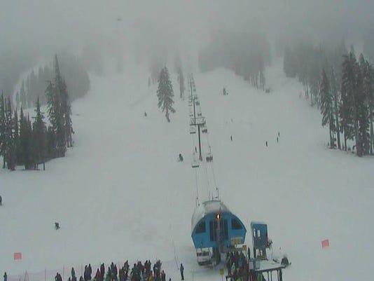 Mount Bachelor ski conditions