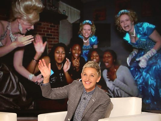 Teresa Gunter on Ellen