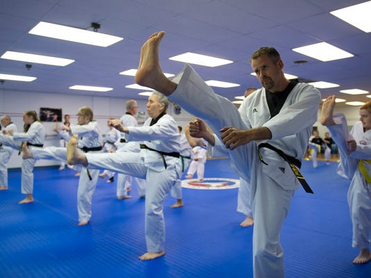 LEBANON DAILY NEWS   JEREMY LONG  Family Karate offers Tae Kwon Do and a series of other defensive martial arts for all ages.