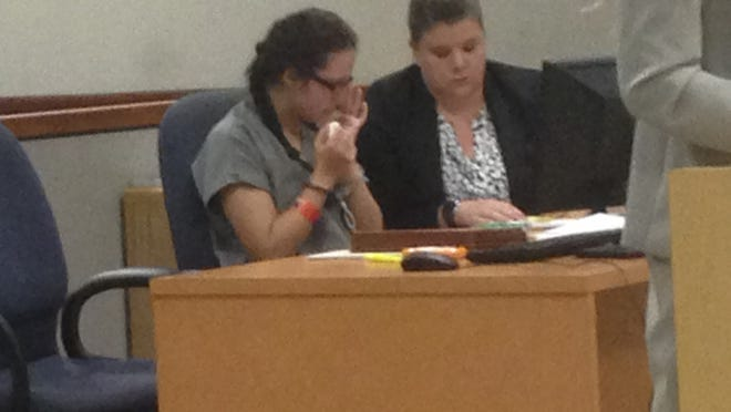 In court Thursday, bond was set at $50,000 for Jessie Umberger, 18, of Satellite Beach.