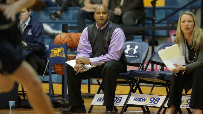 University of Pennsylvania assistant coach Chris Day, above, had been named the next women's basketball coach at the University of Vermont.