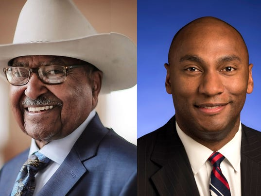 Democratic candidates Chism and Harris vie for party nod in county mayor's race.
