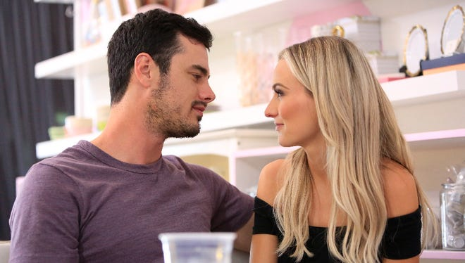 Ben Higgins and Lauren Bushnell.