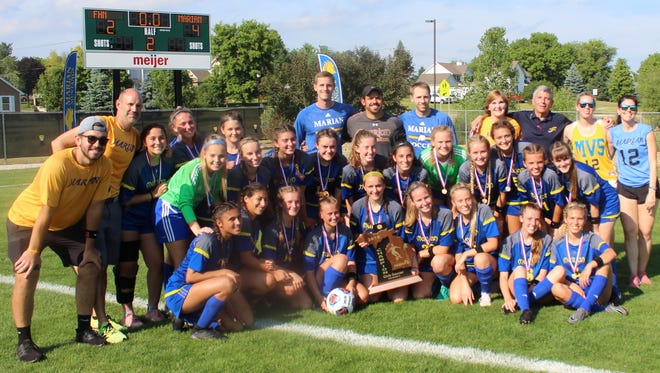 Bloomfield Hills Marian, the 2018 Division 2 state soccer champion, was one of a number of Hometown Life teams which captured state titles this school year.