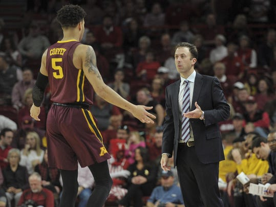 NCAA Basketball: Minnesota at Arkansas
