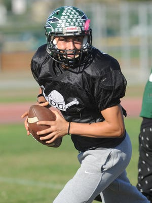 Quarterback Raul Sandoval was named the Pacific View League Offensive MVP after leading Pacifica to a league title.