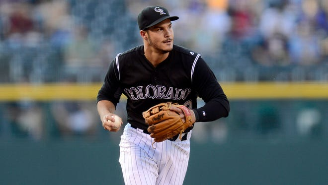 Nolan Arenado is the National League's top home run hitter and RBI man over the last two years.