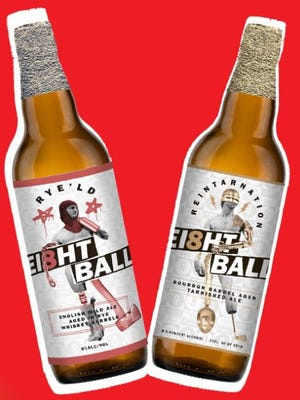 For its second anniversary, Ei8ht Ball will release two limited barrel-aged beers.