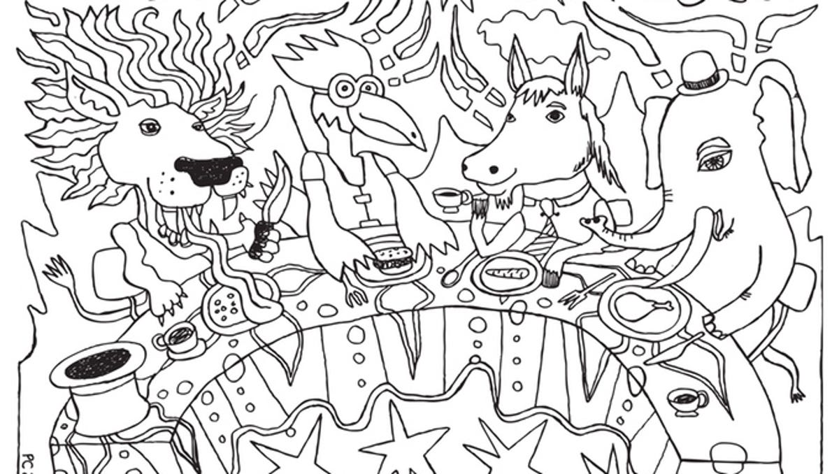 Color Your Heart Out At Highland Brewing S Adult Coloring Night